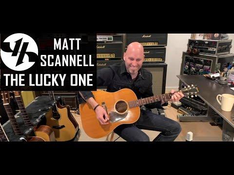 """The Lucky One"" Matt Scannell Vertical Horizon Live Acoustic 2/11/21"