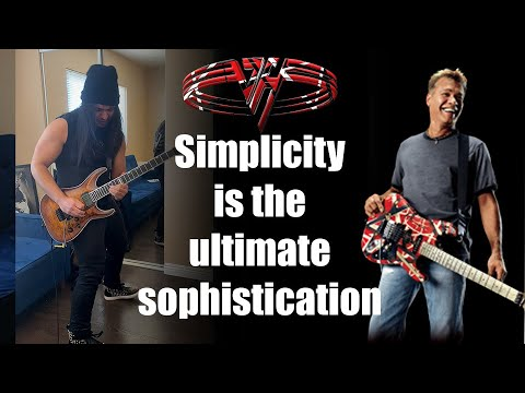 IS THIS BEST AND MOST SIMPLE VAN HALEN SOLO??