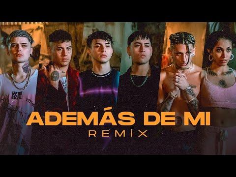 Rusherking, Tiago PZK, KHEA, LIT Killah, Duki, Maria Becerra - ADEMAS DE MI REMIX (Official Video)