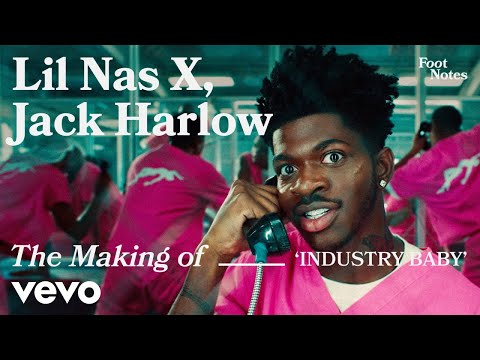 Lil Nas X - The Making of 'Industry Baby' (Vevo Footnotes) ft. Jack Harlow