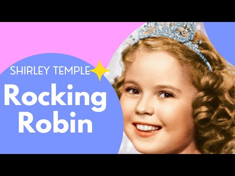 Shirley Temple Rocking Robin
