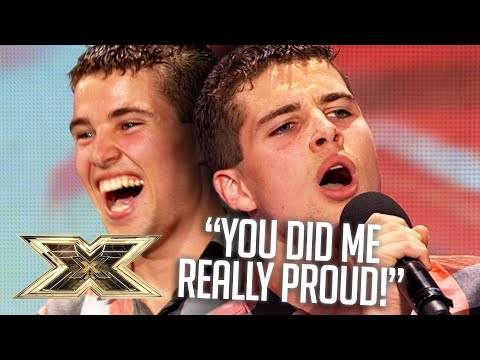 Joe McElderry's FIRST EVER performance   Audition   Series 6   The X Factor UK