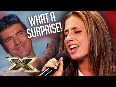 Stacey Solomon's voice makes Simon MELT!   Audition   Series 6   The X Factor UK