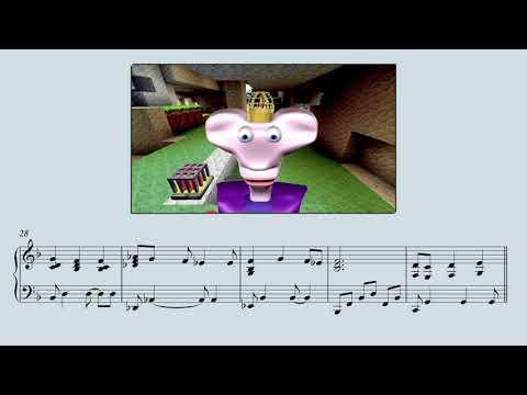 Little King John: The Flood 9 Solo Piano Score