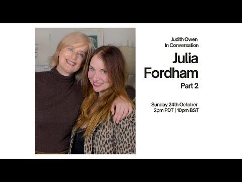 Judith Owen FFS! in conversation with Julia Fordham Part 2