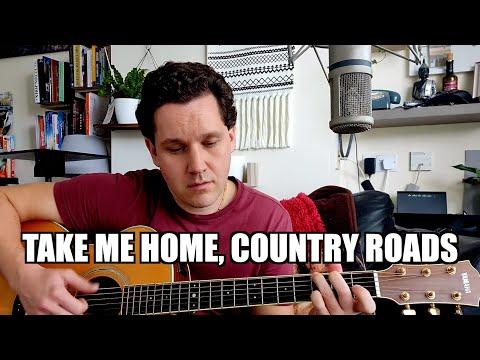 Take Me Home, Country Roads - John Denver   Liam Holmes Cover