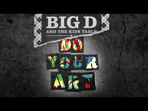 Big D and the Kids Table - Tripping Over Shoelaces
