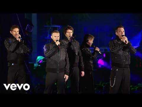 Take That - Never Forget (Progress Live / 2011)