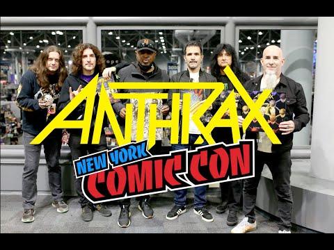 Anthrax New York Comic Con 2021