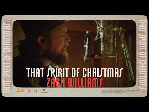 Zach Williams - That Spirit of Christmas (Official Audio)