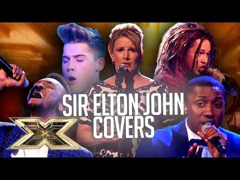 Best SIR ELTON JOHN COVERS! | The X Factor UK