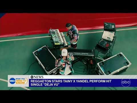 DEJA VU - Tainy, Yandel (Good Morning America)