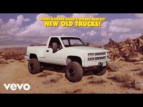 James Barker Band - New Old Trucks (Lyric Video) ft. Dierks Bentley