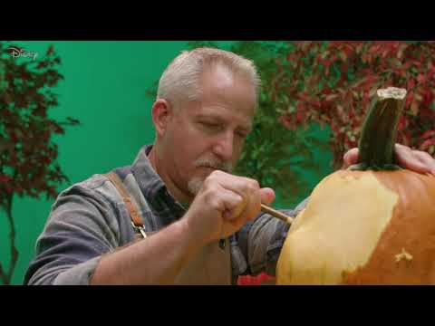 Mike Wazowski Pumpkin Carving | Disney