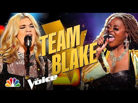 Strong Performances from Team Blake's Hailey Green and Libianca | The Voice Knockouts 2021