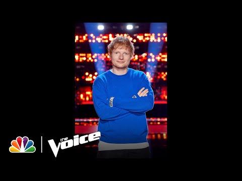 #Shorts | The Coaches Love Ed Sheeran | The Voice 2021